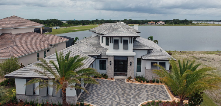 Waterside model home
