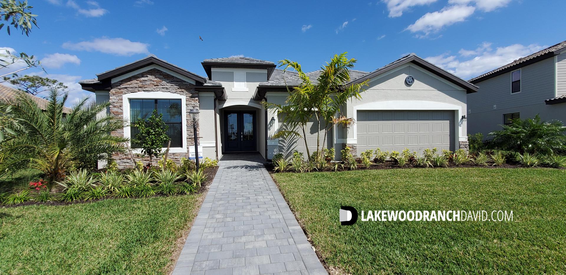 Lorraine Lakes Lakewod Ranch Summerville model home