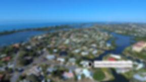 Sorrento Shores Osprey FL aerial view