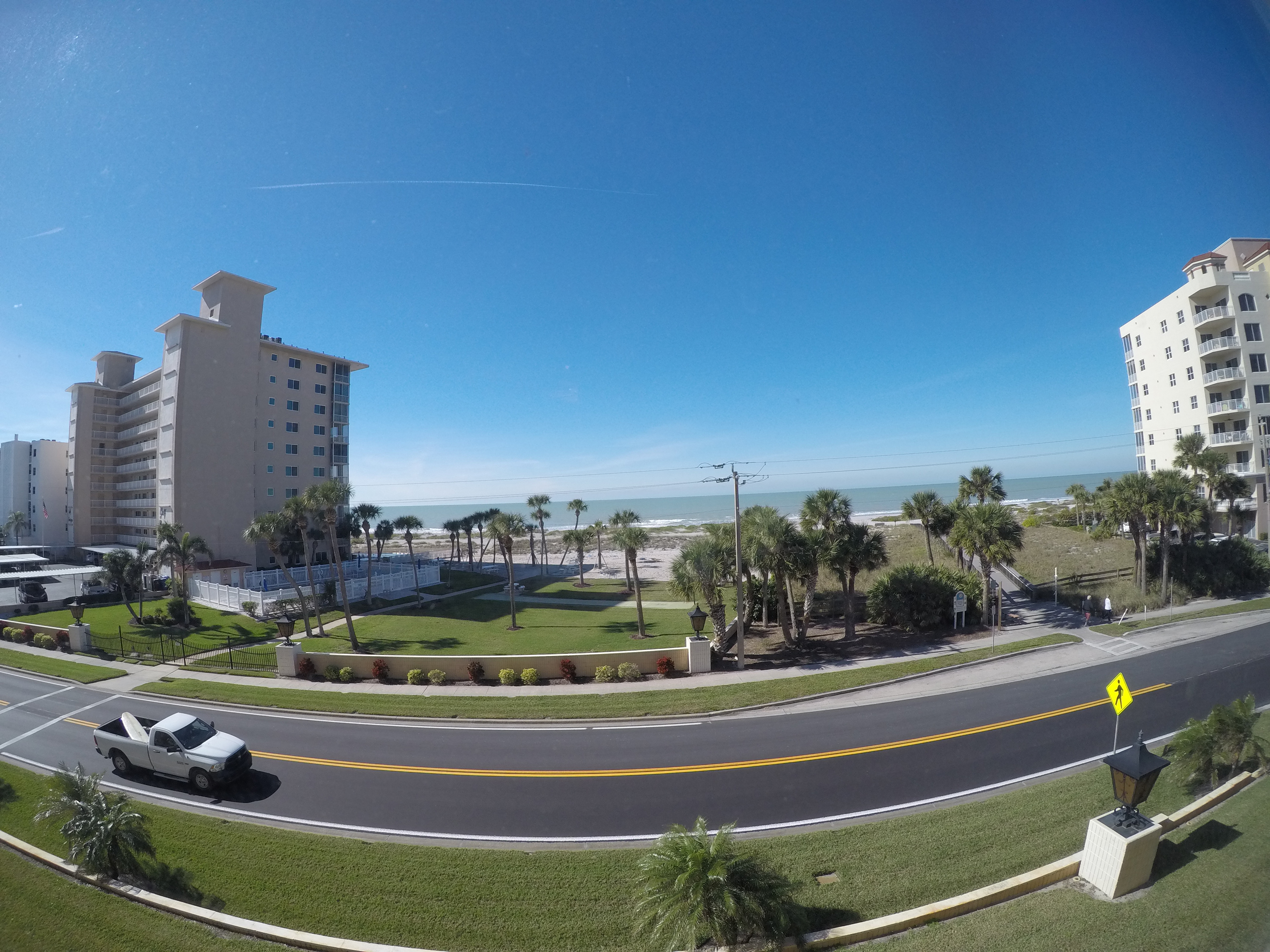 View from living room of Gulf