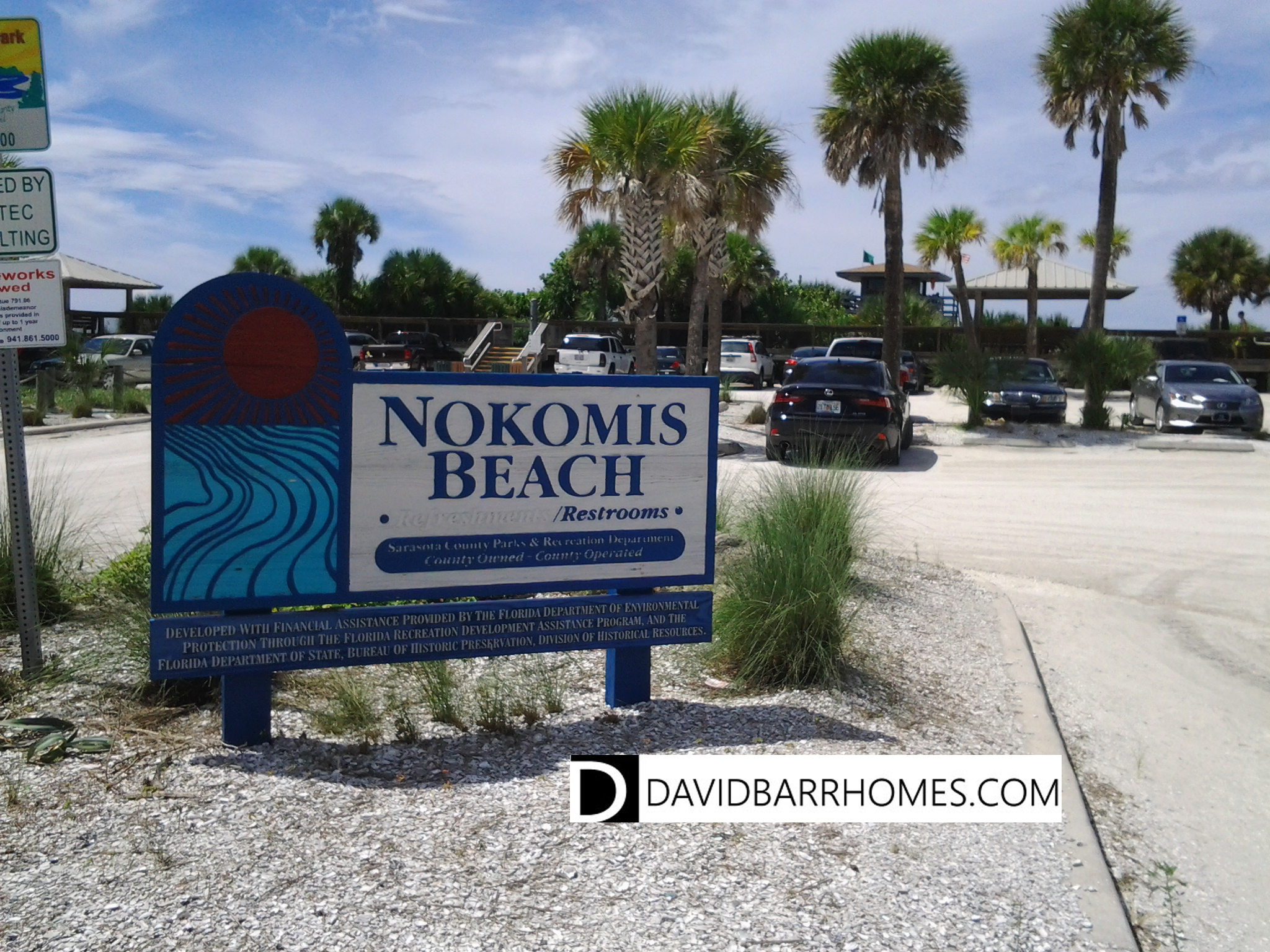 Nokomis Beach entrance