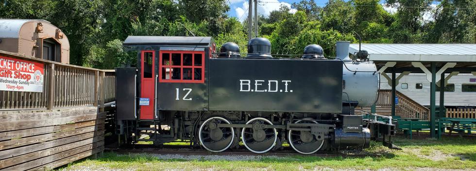 Parrish FL Train Museum