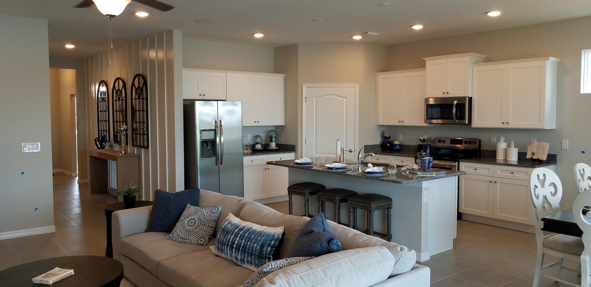 The Palisades Lakewood Ranch model home kitchen