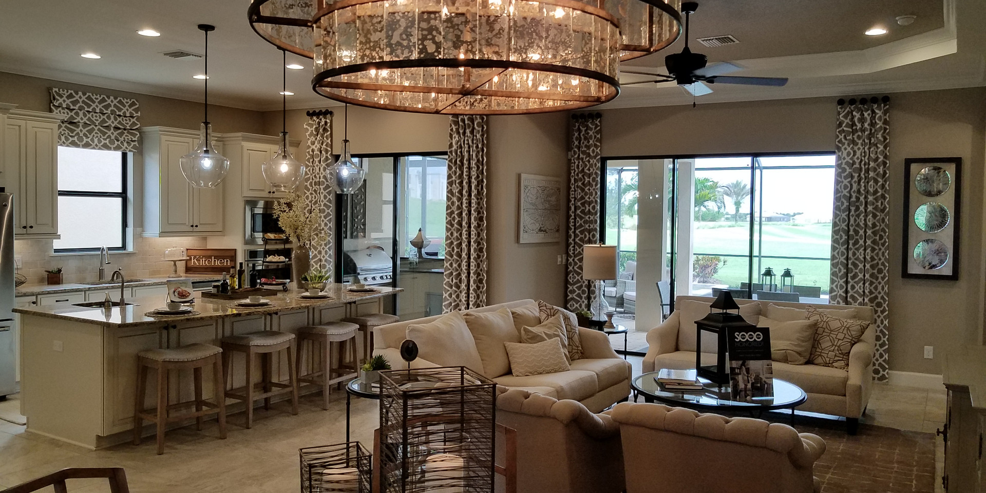 Luxury home model Esplanade Lakewood Ranch