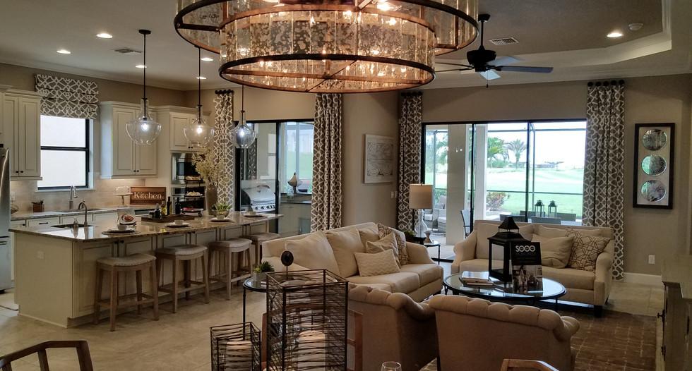 Luxury home model Esplanade Lakewood Ranch