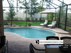Another Bellacina model home pool