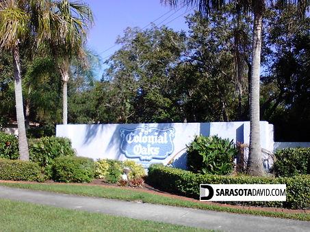 Colonial Oaks Sarasota homes for sale