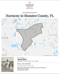 Harmony Lakewood Ranch demographic report