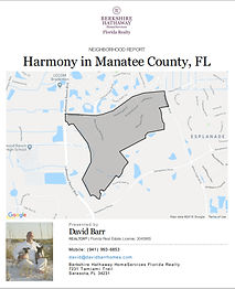 Harmony Lakewood Ranch demographic report