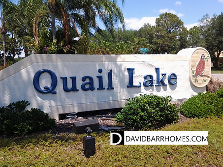 Quail Lake Venice FL homes for sale