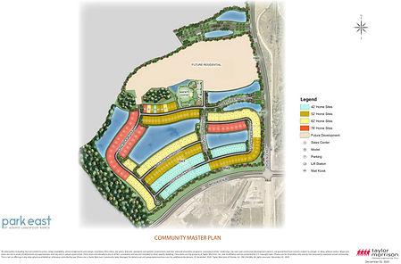 Park East Azario Lakewood Ranch site map