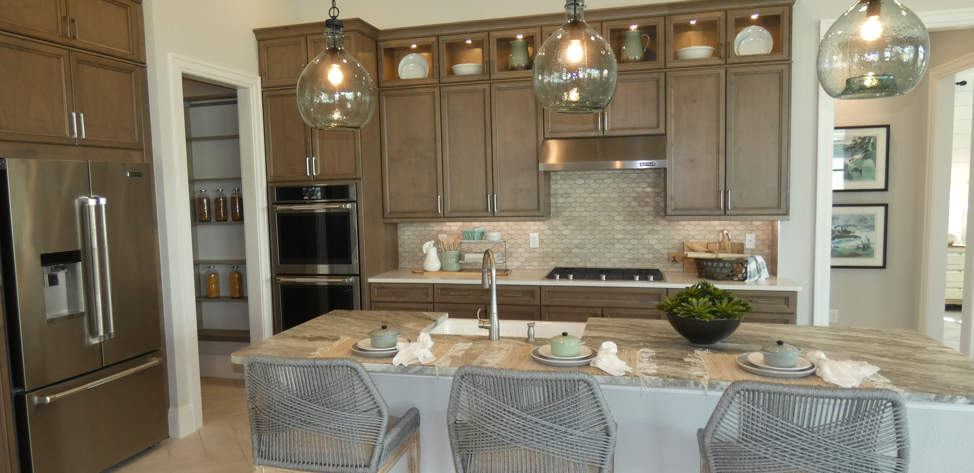Isles of Lakewood Ranch model home kitchen