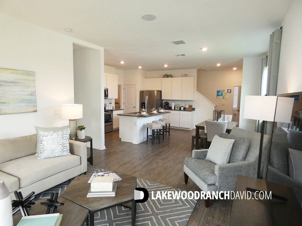 Another Woodleaf Hammock town home floor plan