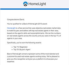 David Barr Venice FL Realtor HomeLight award winner