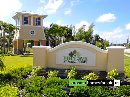 Enclave at Forest Lakes Sarasota townhomes for sale
