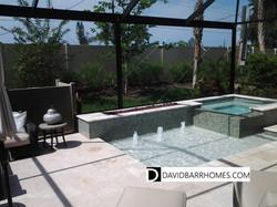 Bellacina model home pool