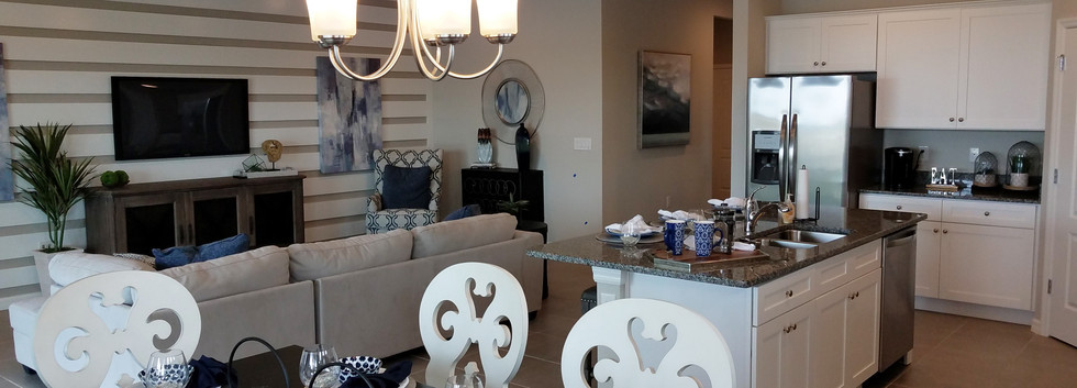 The Palisades Lakewood Ranch model home open floor plan