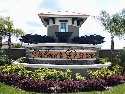 Palmer Reserve Sarasota homes for sale