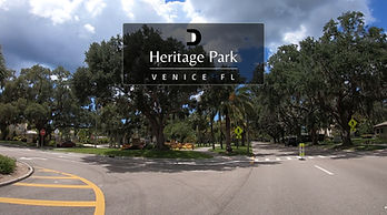 Heritage Park in Venice FL tour by car