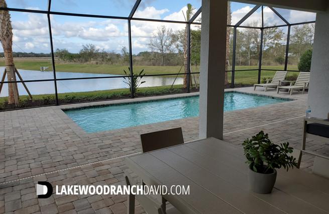 Mystique Model Home Pool