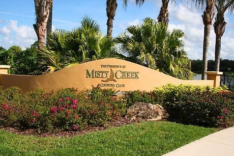 Misty Creek Sarasota homes for sale
