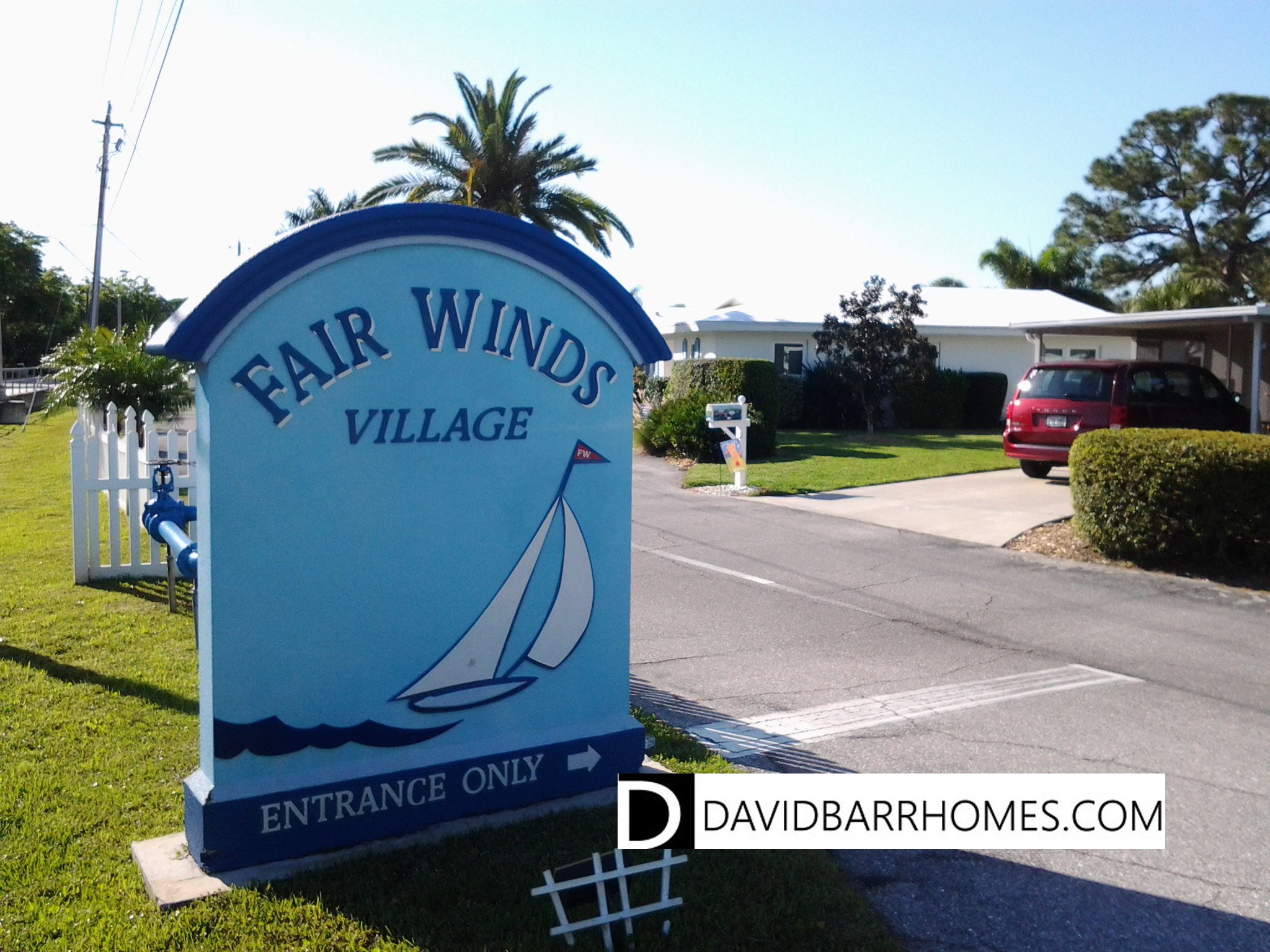 Fairwinds Village entrance