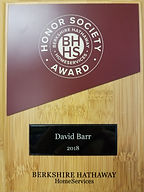 David Barr BHHS Lakewood Ranch Realtor 2018 Award Winner