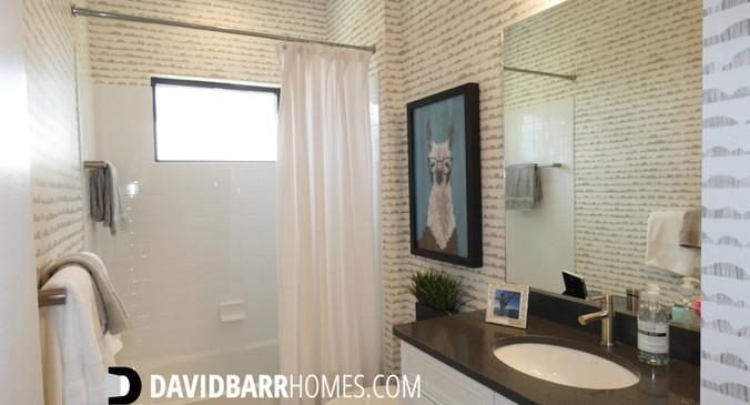 Cielo Venice FL model home guest bath