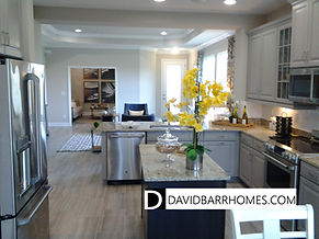 Keyway Place model home interior view
