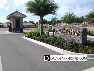 Venice FL gated home community Calusa Park