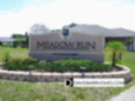 Meadow Run at Jacaranda Venice FL homes for sale