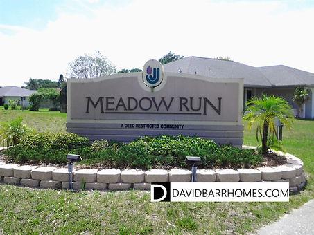 Meadow Run at Jacaranda Venice FL homes for sale