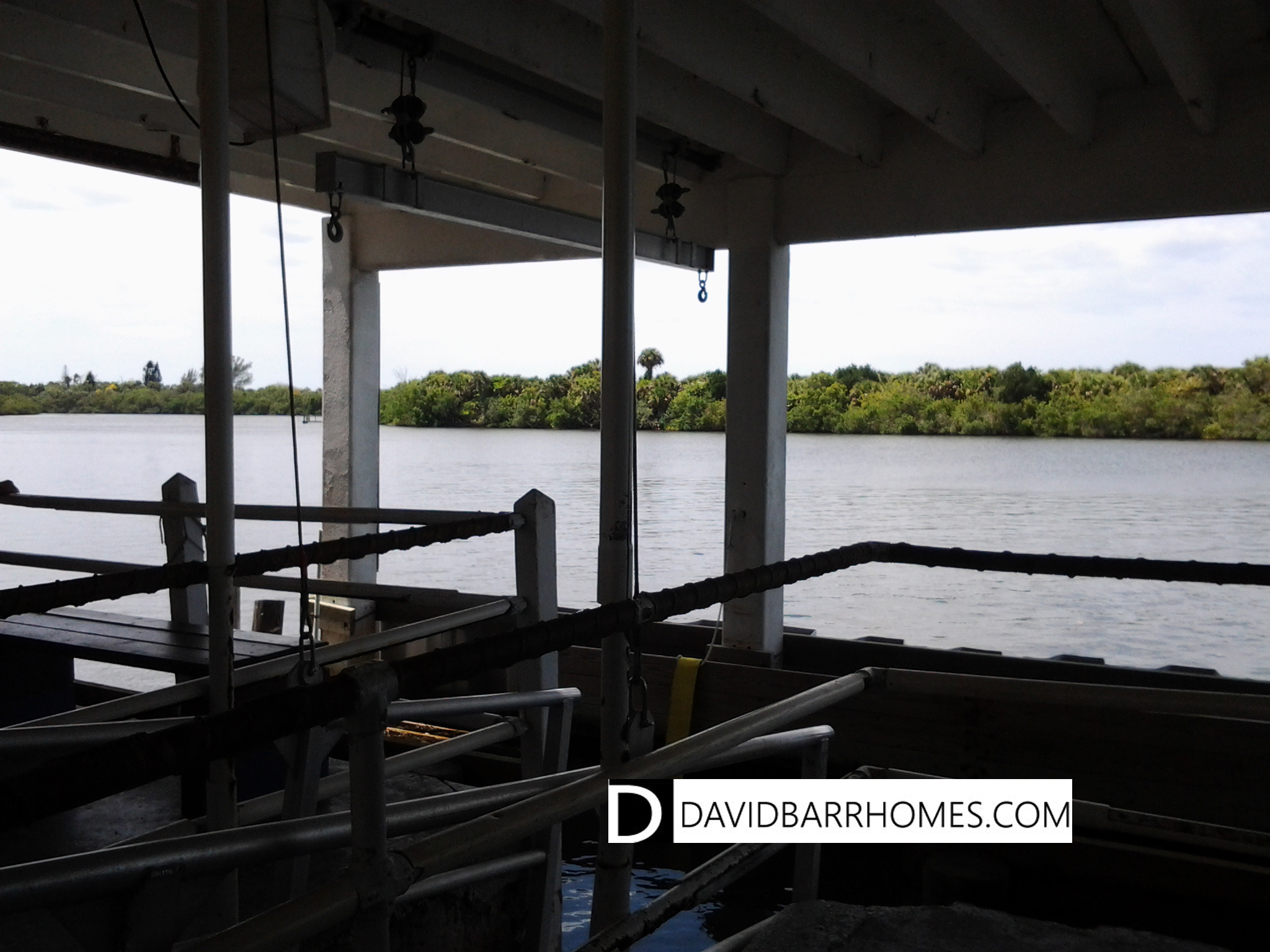 South Venice beach ferry view