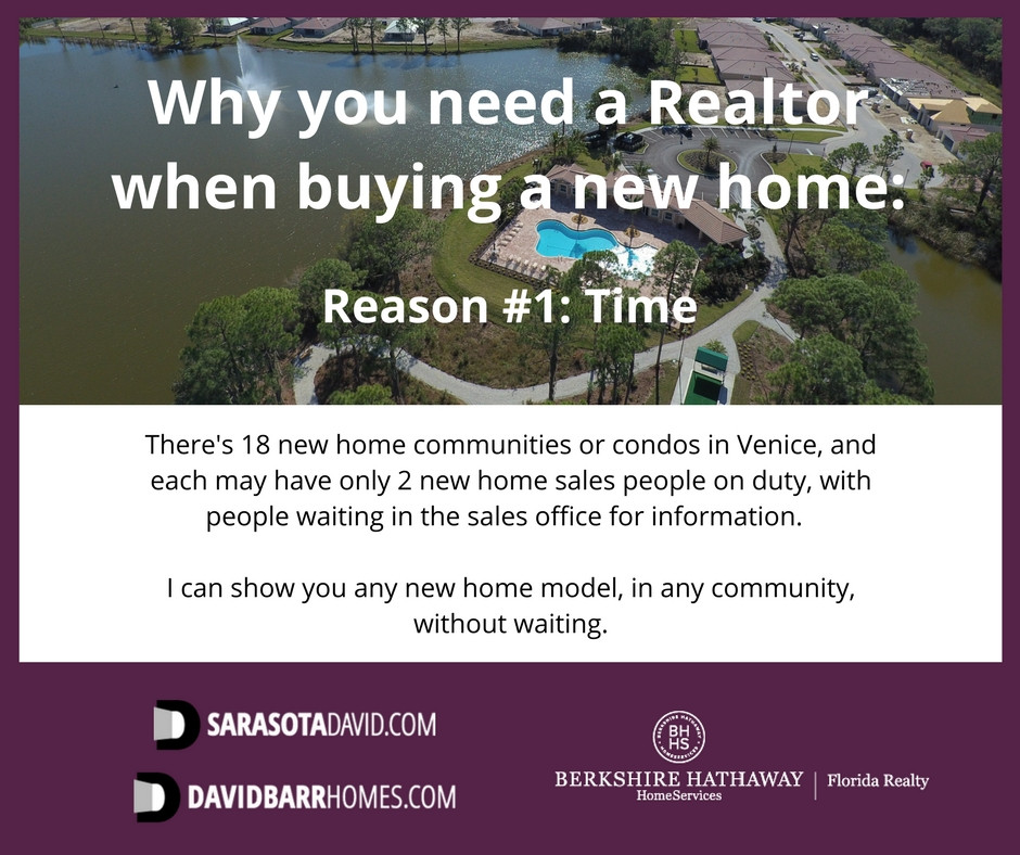 Having a Realtor saves you time when buying a new home