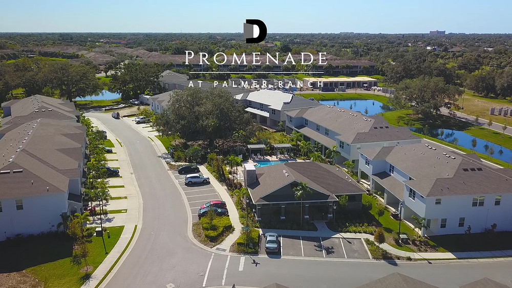 Video tour of the construction progress at Promenade Palmer Ranch