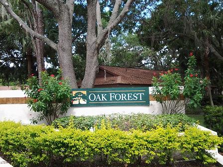 Oak Forest Sarasota villas for sale