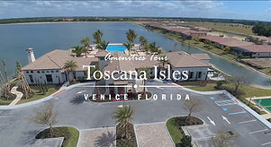 Toscana Isles Venice FL club house and pool video