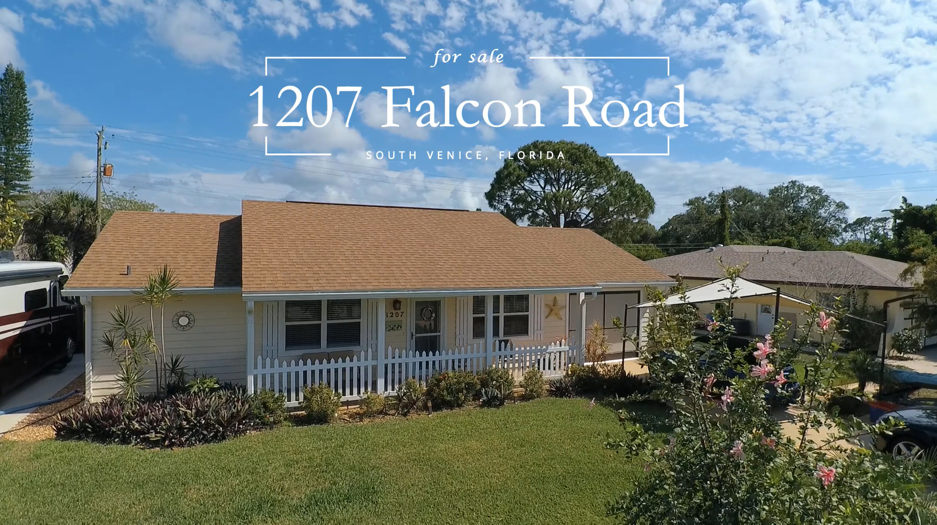 1207 Falcon Road view from street