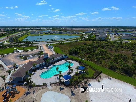 Promenade Estates Sarasota FL community pool