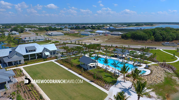New Lakehouse Cove pool and club house at Waterside Lakewood Ranch