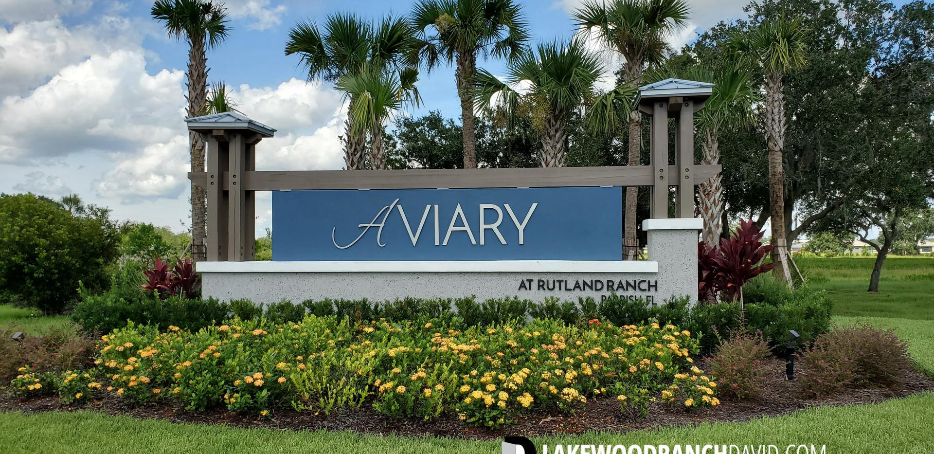 Aviary Rutland Ranch new homes Parrish FL