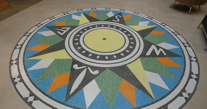 Venice FL Library Mosaic