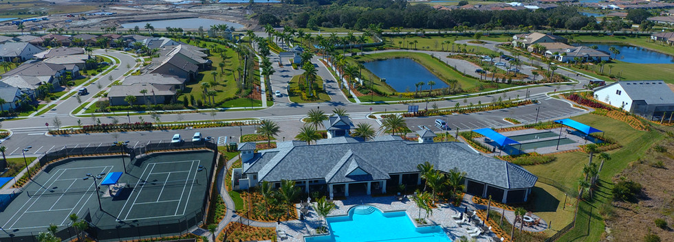 Hammock Preserve Community Pool and Clubhouse