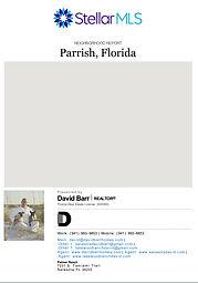 Parrish FL real estate demographic report