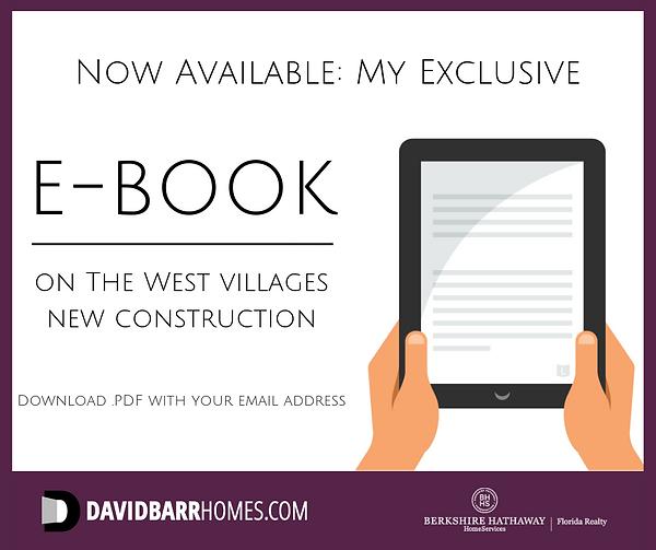 Get my West Villages new homes ebook