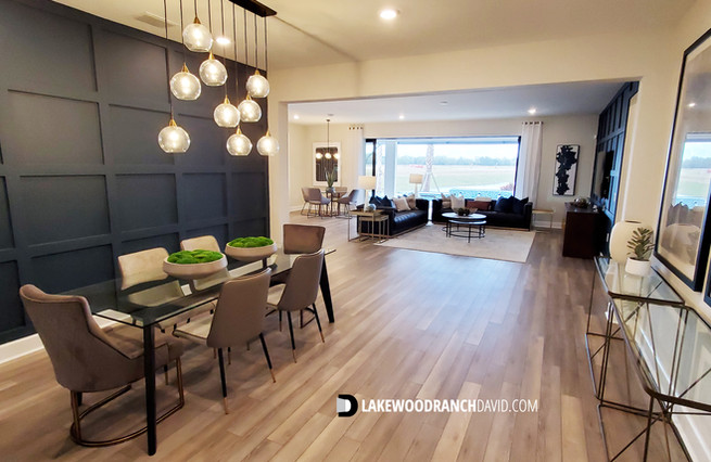 Easley Model Home Great Room