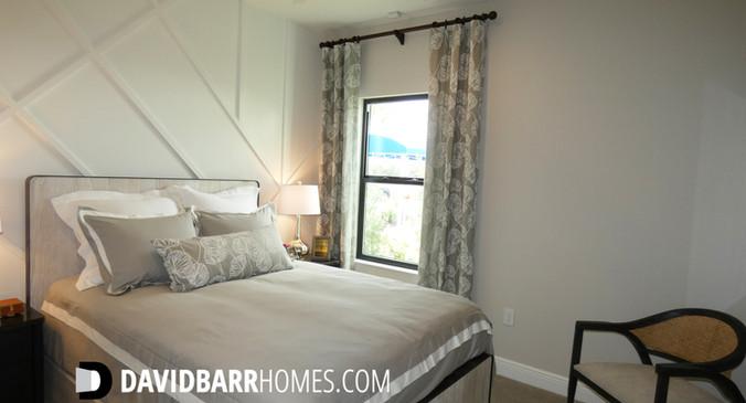Cielo Venice FL model home guest bedroom