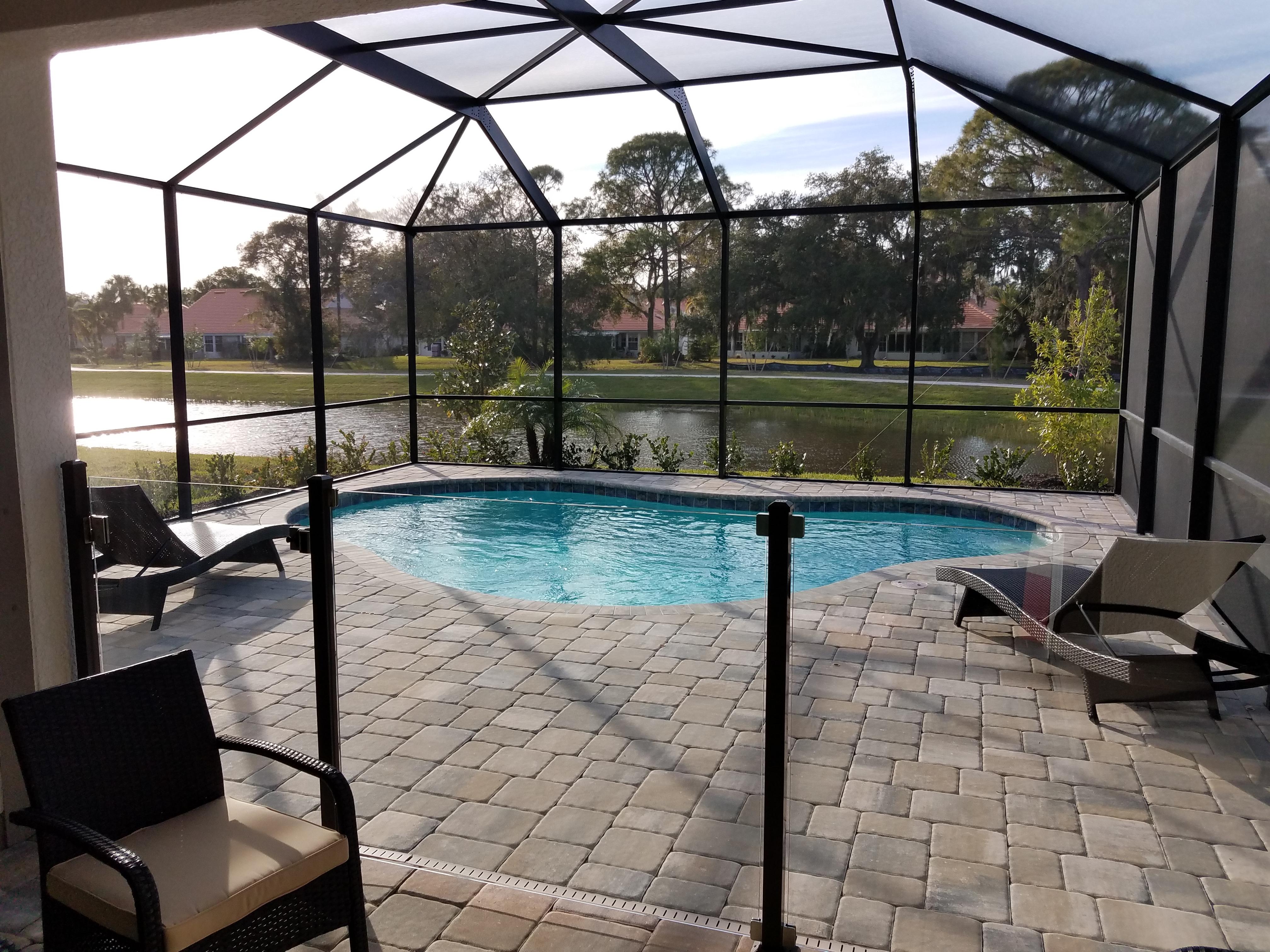 Sunrise Preserve Dawn pool