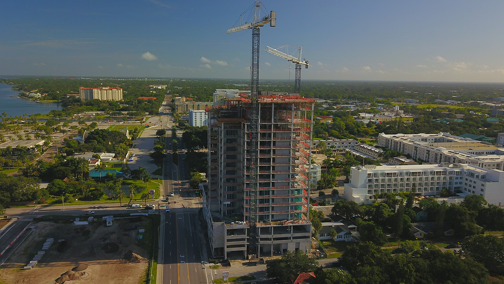 BLVD Sarasota under construction