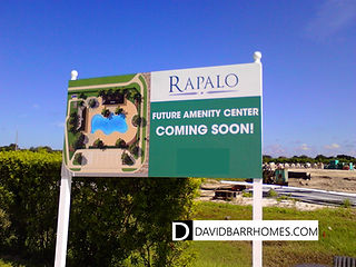 Rapalo Venice FL amenities coming soon